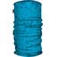 HAD Printed sjaal Kinderen blauw/turquoise